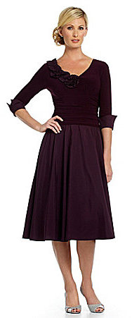 Jessica Howard Rosette Party Dress