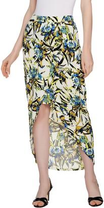 G.I.L.I. Got It Love It G.I.L.I. Wrap Front Maxi Skirt