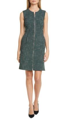 BOSS Darsha Tweed Sheath Dress