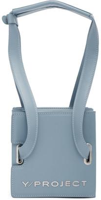 Y/Project Blue Mini Accordion Bag