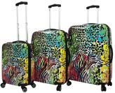 Chariot Color Fusion 3-piece Luggage Set