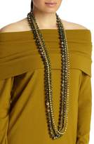 Lafayette 148 New York Ombre Beaded Necklace