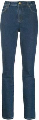 Escada skinny patch jeans