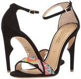 Jerome C. Rousseau Malibu Beaded Ankle Strapped Heel High Heels