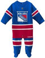 Reebok Baby New York Rangers Footed Bodysuit