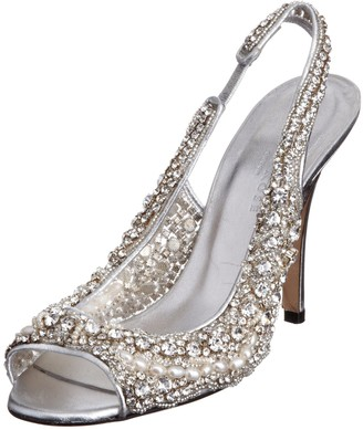 Freya Rose Women's Hollywood Silver Special Occasion 7 UK