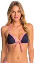 Betsey Johnson Swimwear Carousel Bump Me Up Underwire Triangle Bikini Top 8146574