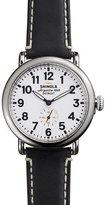 Shinola 41mm Runwell Men's Watch, White/Black