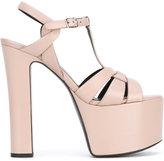 Saint Laurent Betty 80 t-strap sandals - women - Leather - 40