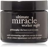 philosophy Ultimate Miracle Worker Night Multi-Rejuvenating Nighttime Serum In Cream