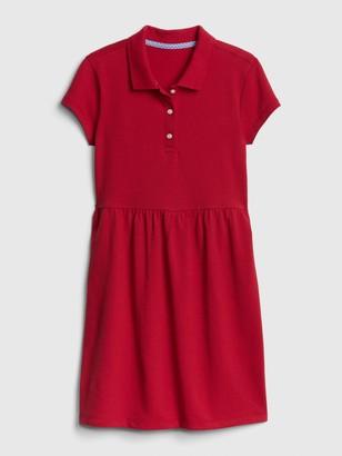 Gap Kids Uniform Short Sleeve Polo Shirt Dress