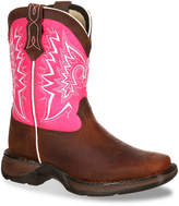 Durango Let Love Fly Western Youth Cowboy Boot - Girl's