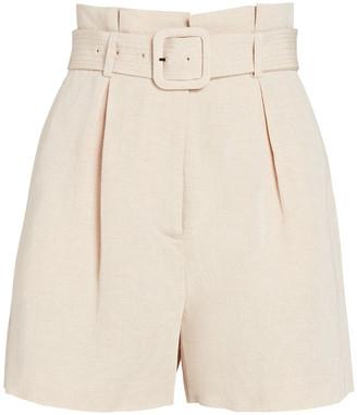 Intermix Kamron Belted Shorts