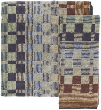 Missoni Set Of 2 Yassine Cotton Towels