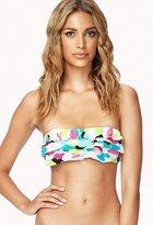 Forever 21 Ruffled Bandeau Bikini Top