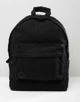 Mi-Pac Jersey Rope Backpack In Black
