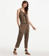 LOFT Lou & Grey Linen Jersey Jumpsuit
