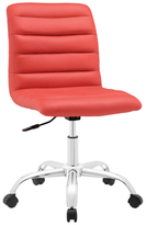 Modway Ripple Armless Mid Back Office Chair