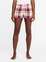 Old Navy Patterned Poplin Boxers for Women