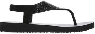 Skechers Meditation Ladies Toe Post Sandals