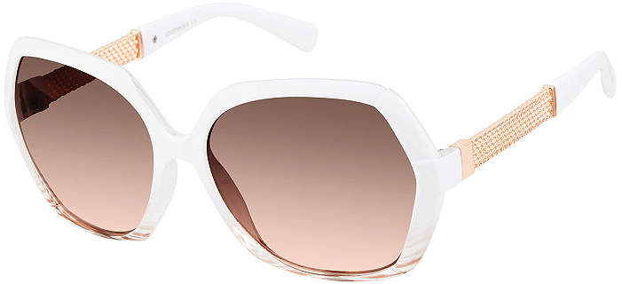 4aeffcd67b60 White Frame Square Sunglasses - ShopStyle