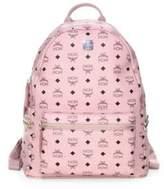 MCM Stark Printed Canvas Backpack
