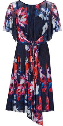 Ariella London Lana Marie Kasia Floral Print Mesh Dress