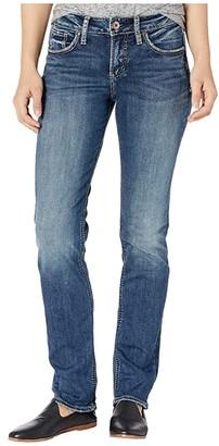 Silver Jeans Co. Boyfriend Mid-Rise Slim Leg Jeans L27101SDG455