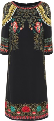 Etro Printed crepe midi dress