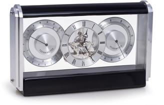 Bey-Berk Skeleton Movement Quartz Clock