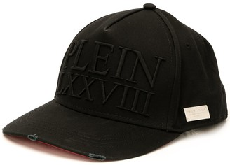 Philipp Plein Cotton Camouflage Cap