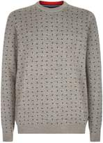 Ted Baker Crazy Geometric Pattern Sweater