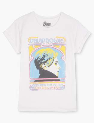 Lucky Brand Bowie Classic Poster Tee