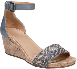 Naturalizer Cork Wedge Sandals - Cami