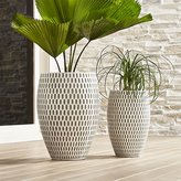 Crate & Barrel Howell Planters