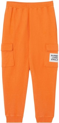 Burberry Logo Patch Track Pants
