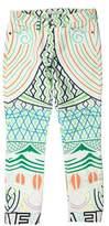 Mary Katrantzou Printed Mid-Rise Jeans