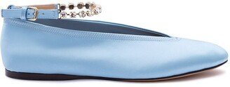 J.W.Anderson Crystal Ballerina Shoes