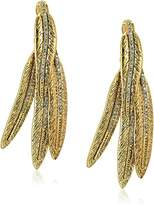 House Of Harlow Cedro Dangle Gold Drop Earrings