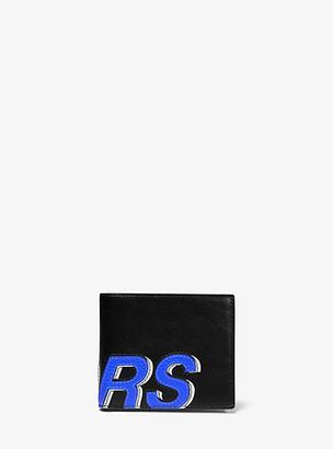 Michael Kors Greyson KORS Pebbled Leather Billfold Wallet