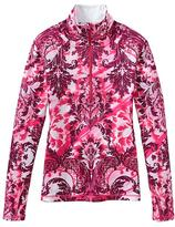 Athleta Sierra Thermal Floral Haze Half Zip