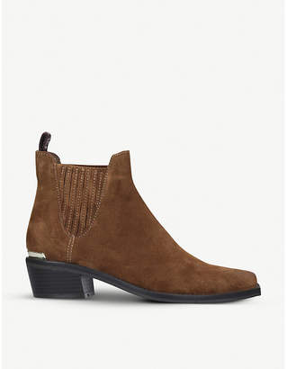DKNY Michelle suede Chelsea boots