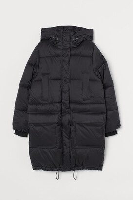H&M Hooded Puffer Jacket
