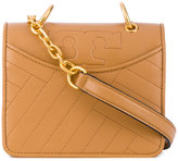 Tory Burch Aged Vachetta shoulder bag - women - Leather - One Size