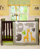 Carter's Animal Collection 4 Piece Crib Bedding Set Bedding