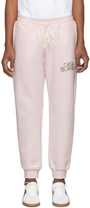 Casablanca Pink Arch Logo Lounge Pants