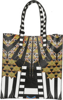 Givenchy Egyptian Art Deco Printed Tote