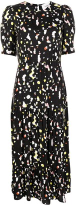 BA&SH Tonya abstract-print dress