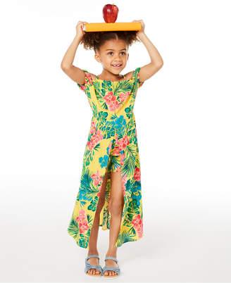 Epic Threads Toddler Girls Floral-Print Walkthrough Romper Dress