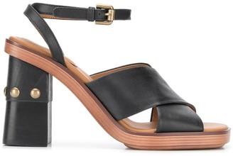 See by Chloe chunky heel sandals